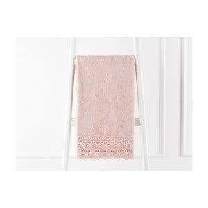Púdrovoružový uterák z čistej bavlny Madame Coco, 50 x 76 cm