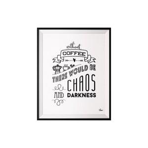Plagát Coffee, 40x50 cm