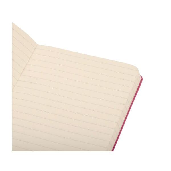 Zápisník Moleskine Magenta Hard PKT, linkovaný