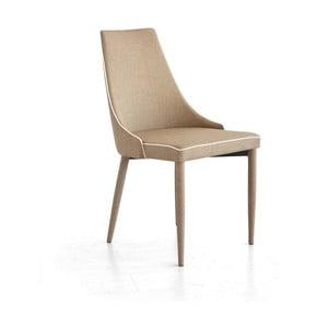 Jedálenská stolička Plana, béžová