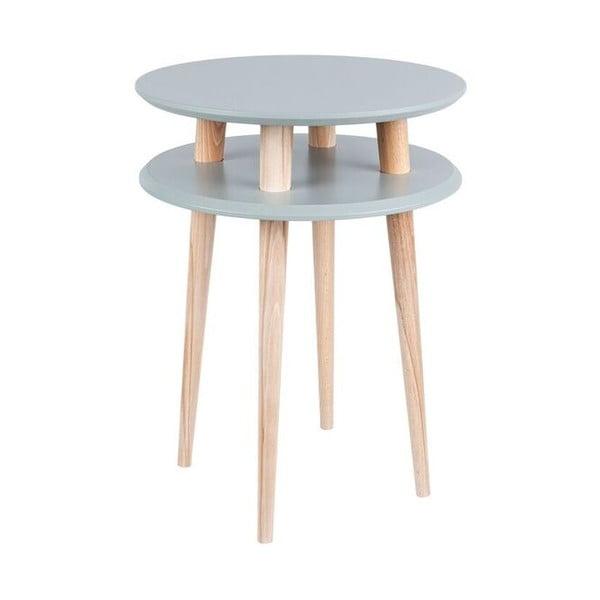 Tmavosivý konferenčný stolík Ragaba UFO, Ø 45 cm