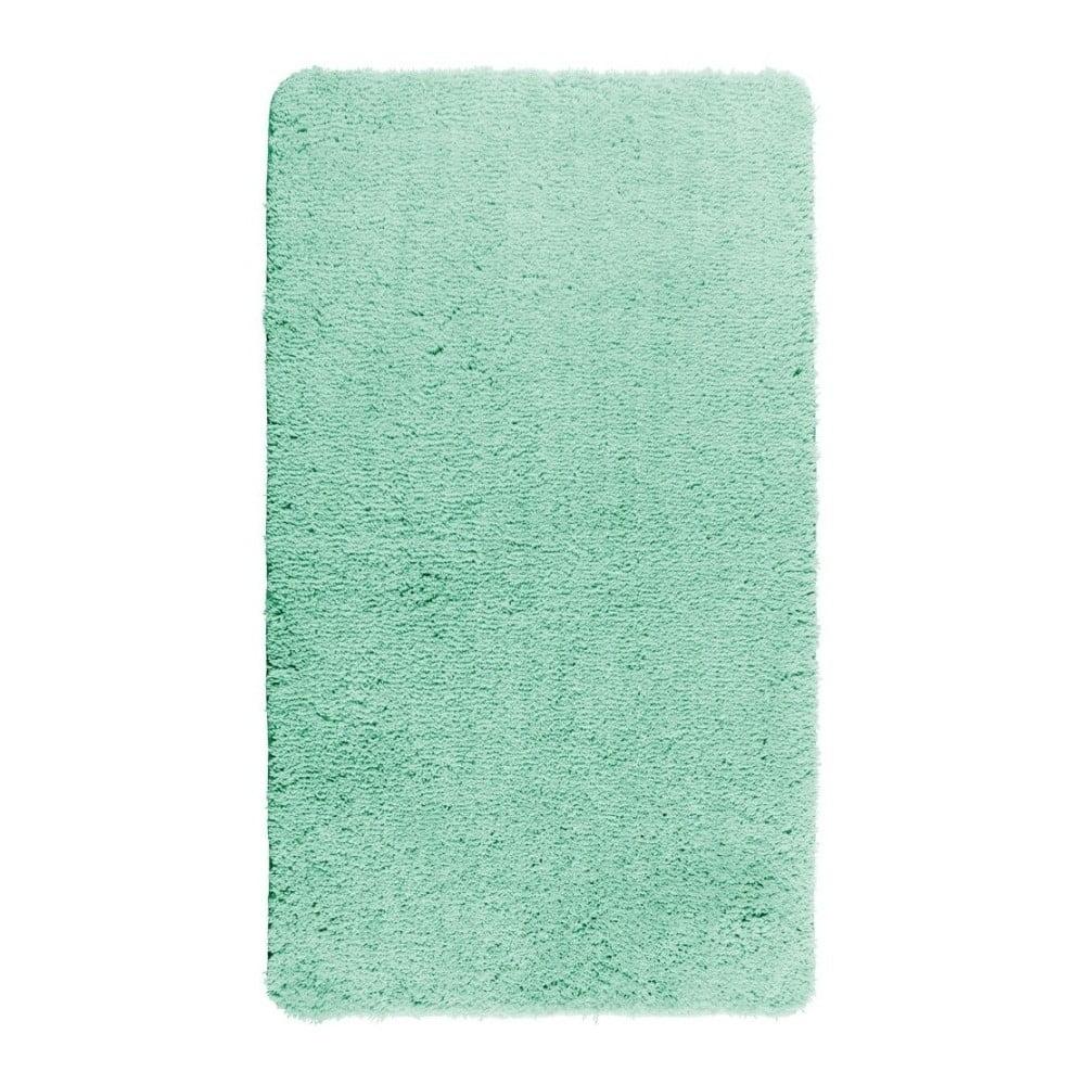 Tyrkysove modrá kúpeľňová predložka Wenko Belize, 90 × 60 cm