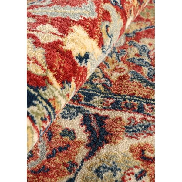 Vlnený koberec Ibai, 60x120 cm, lososový