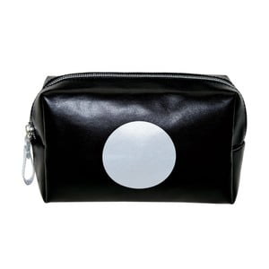 Čierna toaletná taška Incidence No Limit, 16 x 10 cm