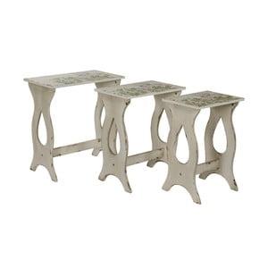 Set 3 stolíkov Seline