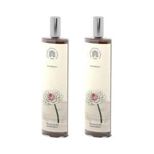 Sada 2 interiérových vonných sprejov s vôňou leknínu Bahoma London Fragranced, 100 ml