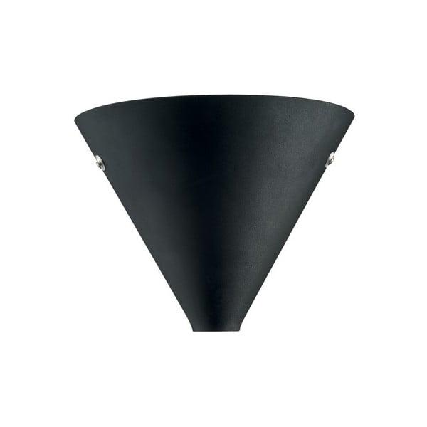 Nástenné svetlo Coctail Black, 20x17 cm