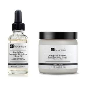 Telová kozmetika Dr.Botanicals Coco Noir Sensuous & Indulgent Body Oil a Coco Noir Sensuous Dark Shea Butter