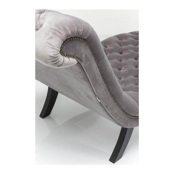 Sivá pohovka Kare Design Desire Velvet