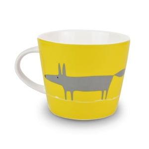 Hrnček MAKE International Mr. Fox Charcoal/Yellow, 350 ml