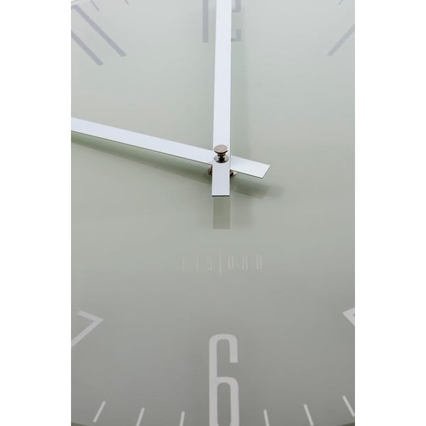 Hodiny Fisura Slim White, 35cm