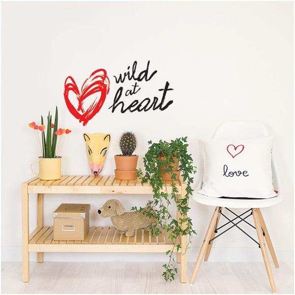 Dekoratívna samolepka na stenu Wild at Heart