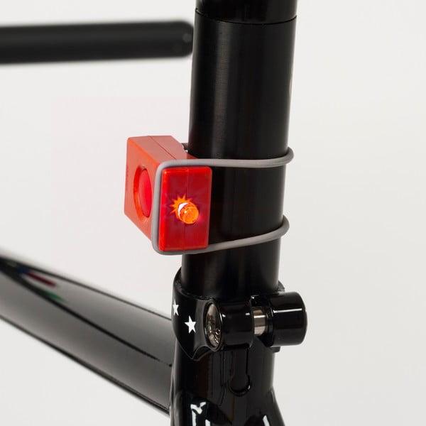 Červená USB blikačka Bookman