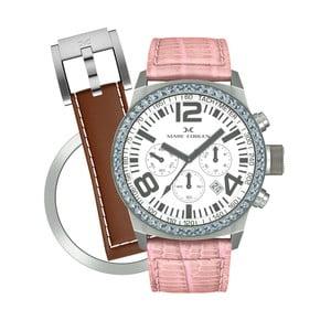 Dámske hodinky Marc Coblen s remienkom a krúžkom na ciferník naviac P102