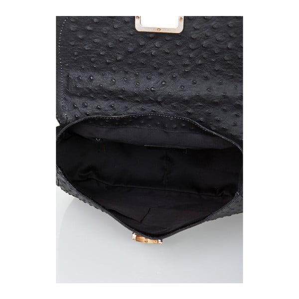 Kožená kabelka Bamboo Black