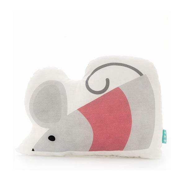 Bavlnený vankúšik Mr. Fox Mouse, 40 × 30 cm