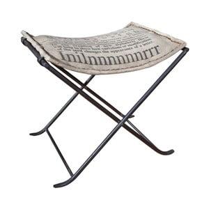 Stolička s koženými detailmi 13Casa Industry Inillle
