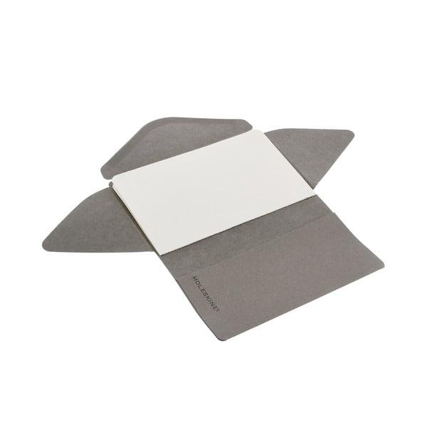 Zápisník a dopis v jednom Moleskine Light Grey