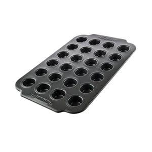 Čierna forma na 24 muffinov s nepriľnavým povrchom Bakehouse Panem