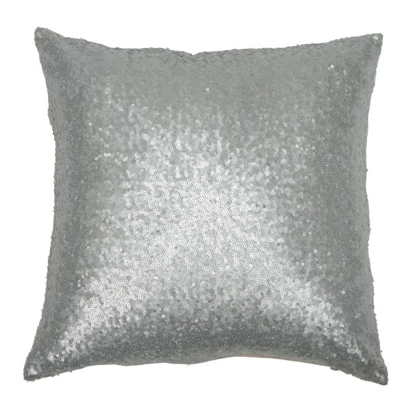 Vankúš Sequin Silver, 40x40 cm