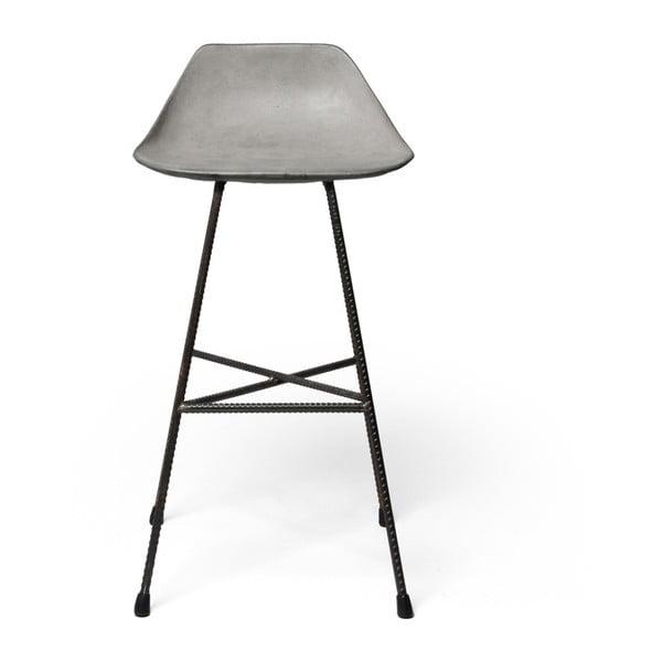 Betónová barová stolička  Lyon Béton Hauteville