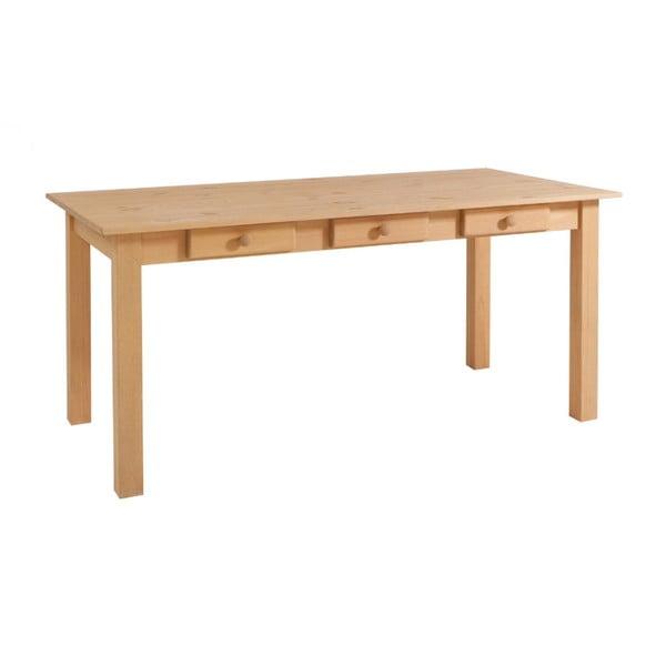 Jedálenský stôl z borovicového dreva Støraa Jamie, 80×160 cm