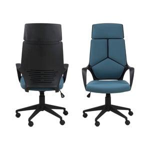 Tyrkysová kancelárska stolička Actona Dubnium