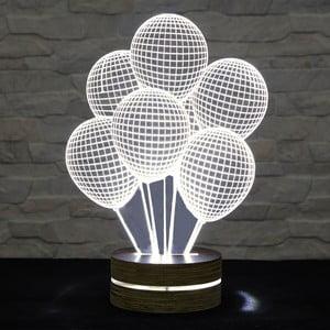 3D stolová lampa Ballons