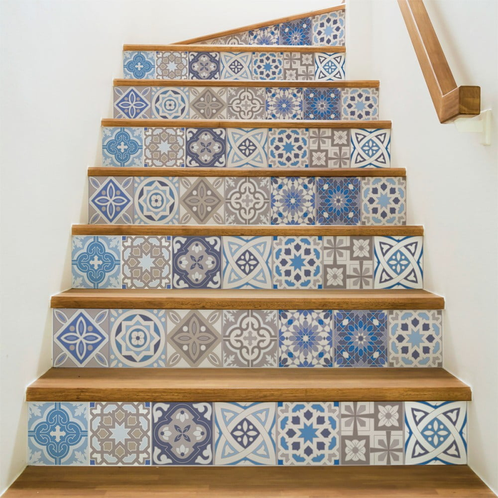 Sada 2 samolepiek na schody Ambiance Honduras, 105 × 15 cm
