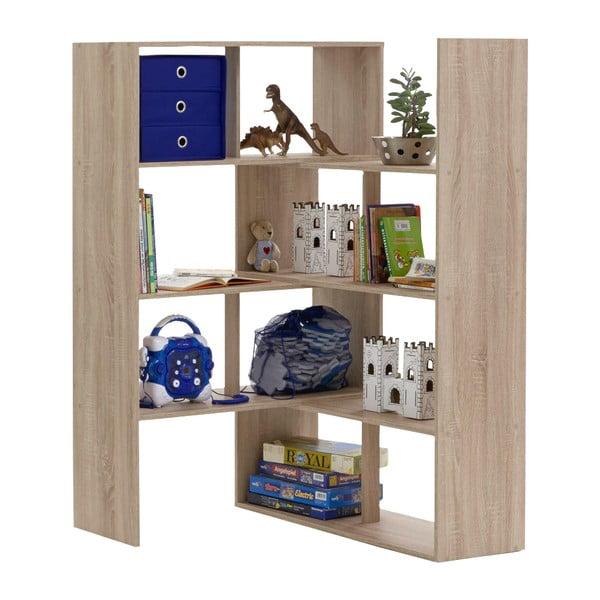 Nastaviteľná knižnica v dekore dubového dreva 13Casa Stretch