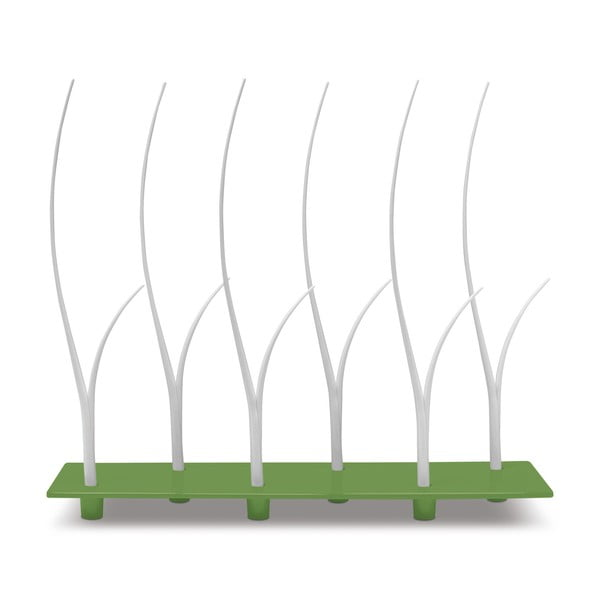 Zelená sada podnosu a paličiek na jednohubky Entity