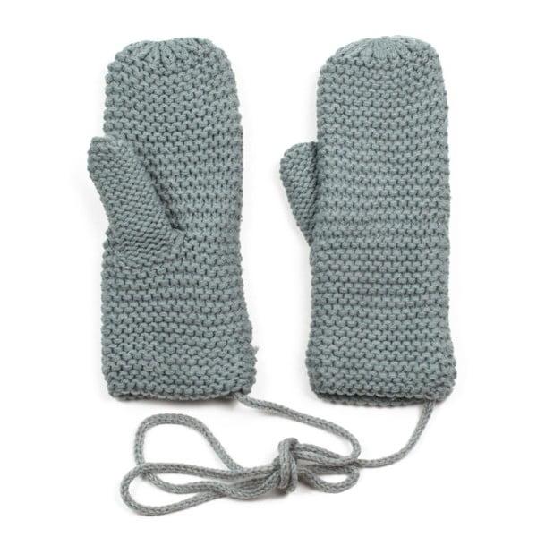 Sivé rukavice Ava