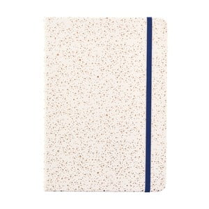 Béžový zápisník o formáte zápisník o formáte A5 Busy B, 96 strán