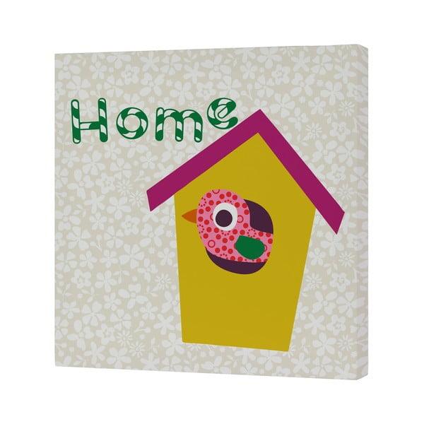Nástenný obrázok Sweet Home Yellow, 27x27 cm