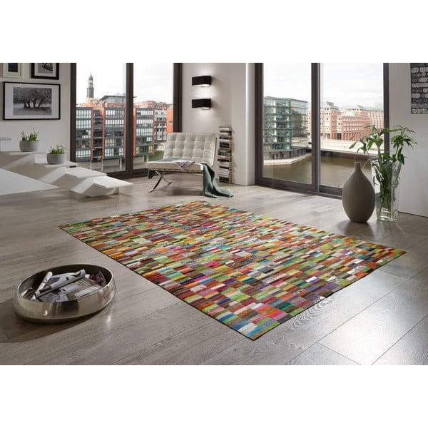 Kožený koberec Christine, 140x200 cm