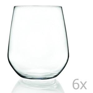 Sada 6 pohárov RCR Cristalleria Italiana Calandra