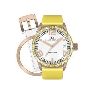 Dámske hodinky Marc Coblen s remienkom a krúžkom na ciferník naviac P26