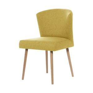 Žltá jedálenská stolička My Pop Design Richter
