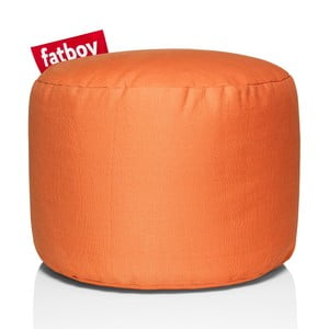 Matný oranžový sedací vak Fatboy Point
