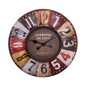 Nástenné hodiny Antic Line Pendula Multicolore, ⌀ 70 cm