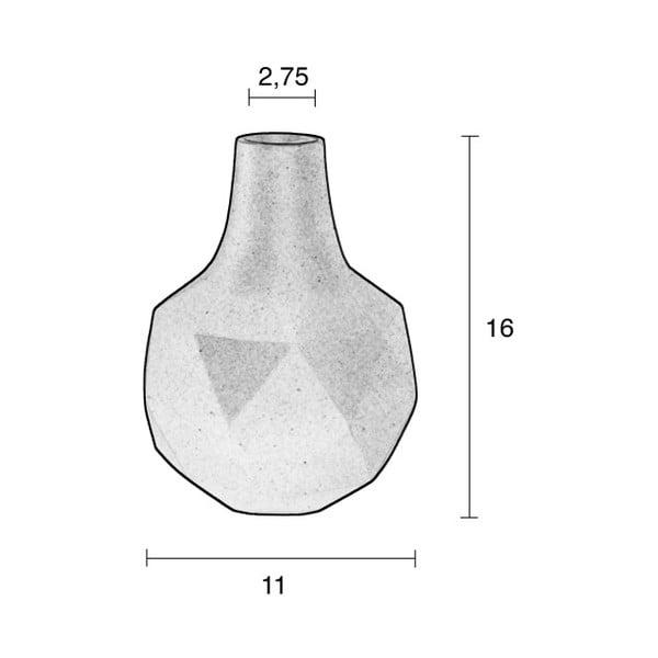 Sivá váza Zuiver Bloom