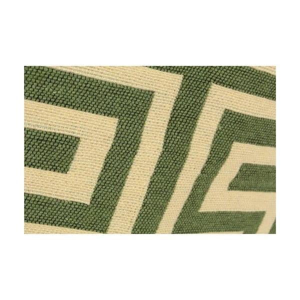 Béžovo-zelený koberec Ya Rugs Kare, 80x150cm