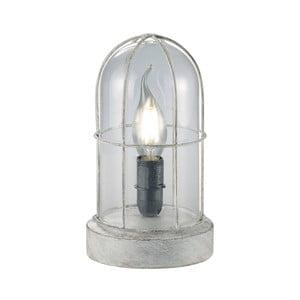 Stolová lampa Birte, sivá