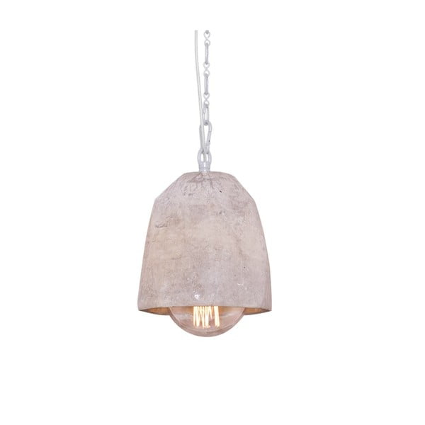 Závesné svietidlo s mramorovým tienidlom Fesh,15 cm