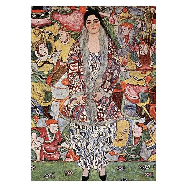 Obraz Gustav Klimt Friederike - Maria Beer, 70x50 cm
