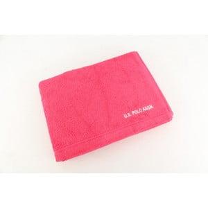 Ružová osuška U.S. Polo Assn. Bath, 70x140cm