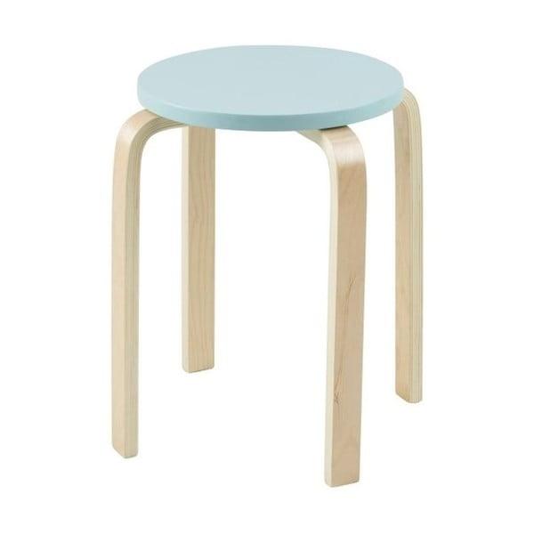 Odkladací stolík Emba, svetlo modrý