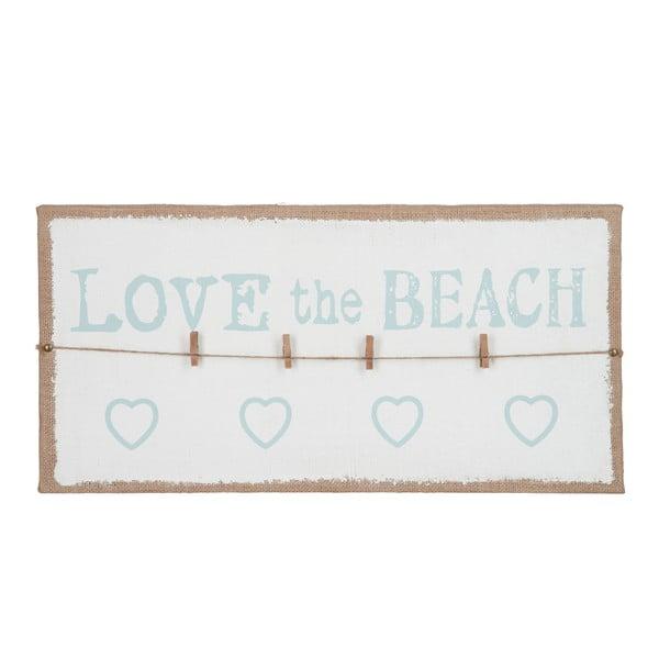 Nástenka na odkazy Love Beach, 60x30 cm