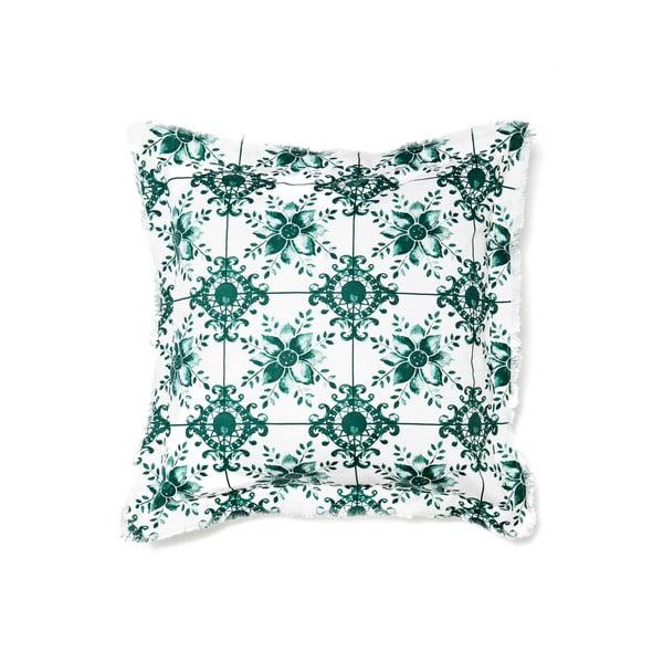 Vankúš CasaDiBassi Mosaik Green, 50×50cm