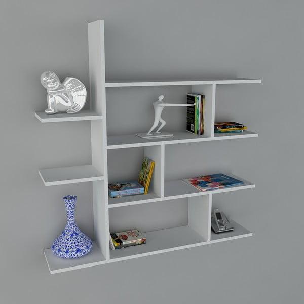 Polica Motif Book White, 22x120x121,8 cm
